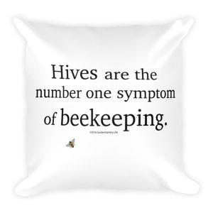"""Hives"" Pillow"